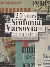 logo 25 Years of the Sinfonia Varsovia Orchestra 1984-2009