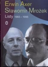 logo Erwin Axer, Sławomir Mrożek. Listy 1965 - 1996