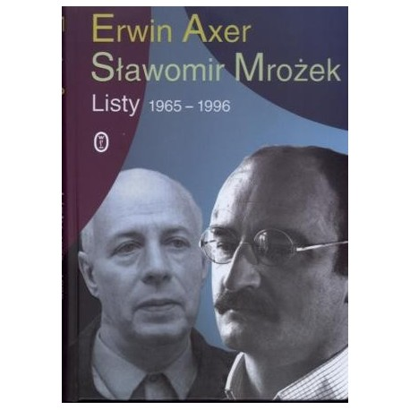 zdjęcie Erwin Axer, Sławomir Mrożek. Listy 1965 - 1996
