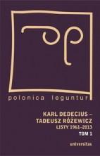 logo Karl Dedecius - Tadeusz Różewicz. Listy1961-2013, tom 1-2