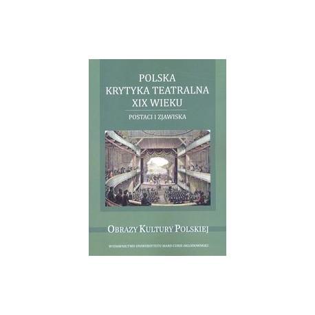 zdjęcie Polska krytyka teatralna XIX wieku