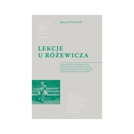 zdjęcie Lekcje u Różewicza (Teksty krytycznoliterackie i osobiste)