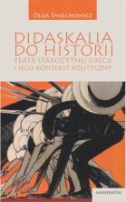 logo Didaskalia do historii. Teatr starożytnej Grecji i jego kontekst polityczny