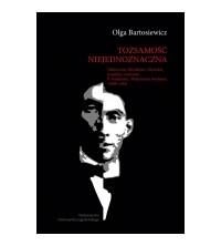 logo Tożsamość niejednoznaczna. Historyczne, filozoficzne o literackie konteksty twórczości B. Fundoianu/Benjamine'a Fondane'a