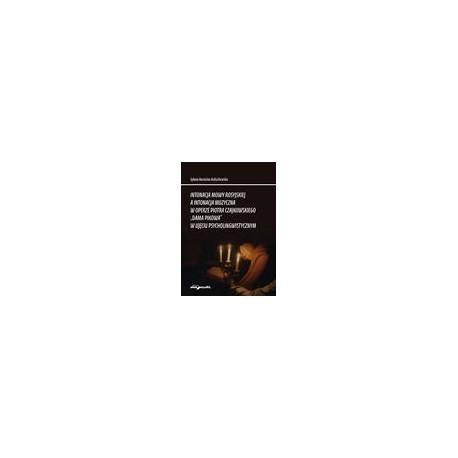 """zdjęcie Intonacja mowy rosyjskiej a intonacja muzyczna w operze Piotra Czajkowskiego """"Dama Pikowa"""" w ujęciu psycholingwistycznym"""