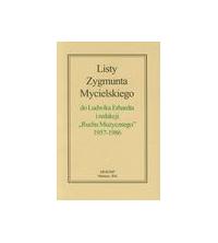 """logo Listy Zygmunta Mycielskiego do Ludwika Erhardta i redakcji """"Ruchu Muzycznego"""" 1957-1986"""