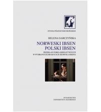 logo Norweski Ibsen. Polski Ibsen. Przekład form adresatywnych w wybranych dramatach Henryka Ibsena
