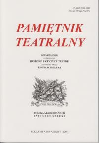 logo Pamiętnik Teatralny