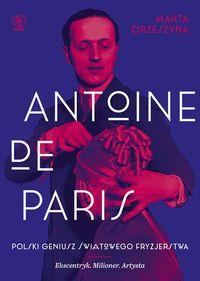 logo Antoine de Paris. Polski geniusz światowego fryzjerstwa