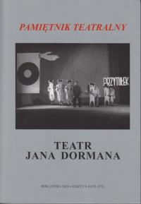 logo Pamiętnik Teatralny 2019/3-4. Teatr Jana Dormana