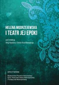 logo Helena Modrzejewska i teatr jej epoki