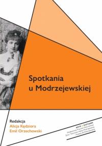 logo Spotkania u Modrzejewskiej
