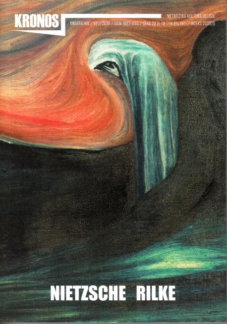 zdjęcie Kronos nr 1/2020. Nietzsche-Rilke