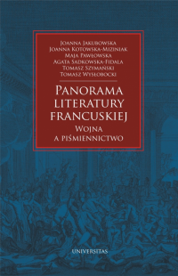 logo Panorama literatury francuskiej. Wojna a piśmiennictwo