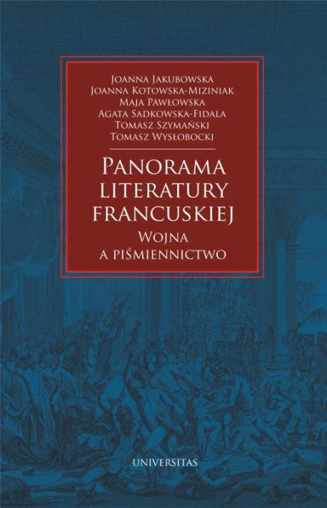 zdjęcie Panorama literatury francuskiej. Wojna a piśmiennictwo