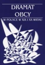 logo Dramat obcy w Polsce w XIX i XX wieku
