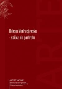logo Helena Modrzejewska - szkice do portretu 2