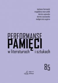 logo Performanse pamięci w literaturach i sztukach