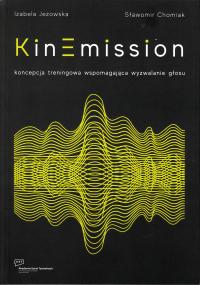 logo KinEmission. Koncepcja traningowa wspomagająca wyzwalanie głosu