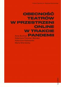 logo Obecność teatrów w przestrzeni online w trakcie pandemii