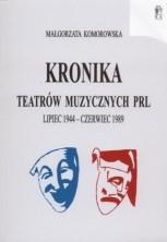 logo Kronika teatrów muzycznych PRL lipiec 1944 - czerwiec 1989