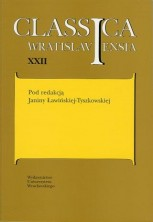 logo Classica Wratislaviensia tom XXII. Literatura i kultura popularna