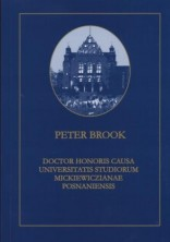 logo Peter Brook Doctor Honoris Causa Universitatis Studiorum Mickiewiczianae Posnaniensis
