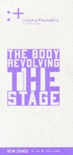 logo The Body Revolving The Stage. New Dance In New Poland