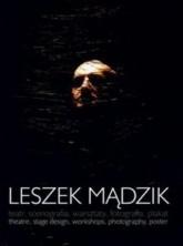logo Leszek Mądzik: teatr, scenografia, warsztaty, fotografia, plakat