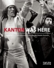 logo Kantor Was Here. Tadeusz Kantor in Great Britain