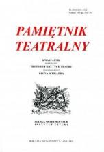 logo Pamiętnik Teatralny 2012/1-2