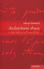 logo Architektura słowa i inne szkice o Norwidzie