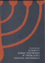 logo Elementy Kabały żydowskiej w twórczości Tadeusza Micińskiego
