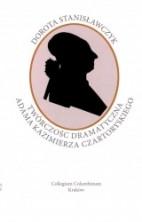 logo Twórczość dramatyczna Adama Kazimierza Czartoryskiego