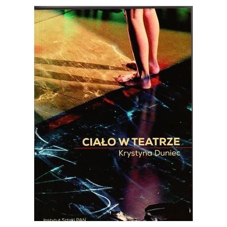 zdjęcie Ciało w teatrze. Perspektywa antropologiczna