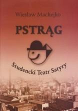 logo Pstrąg. Studencki Teatry Satyry.