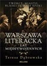 logo Warszawa literacka lat międzywojennych