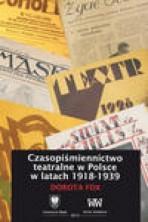 Czasopiśmiennictwo teatralne w Polsce w latach 1918-1939
