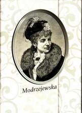 logo Modrzejewska. Ryciny