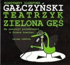 logo Teatrzyk Zielona Gęś. Komiks