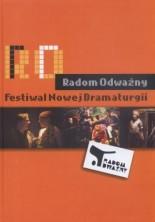 logo Radom Odważny. Festiwal nowej dramaturgii.