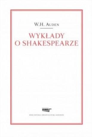 zdjęcie Wykłady o Shakespearze