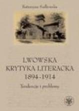 logo Lwowska krytyka literacka 1894-1914. Tendencje i problemy
