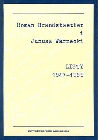 zdjęcie Listy 1947-1969
