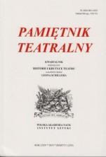 logo Pamiętnik Teatralny 2015/01