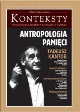 logo Konteksty nr 1-2/2015. Antropologia pamięci. Tadeusz Kantor