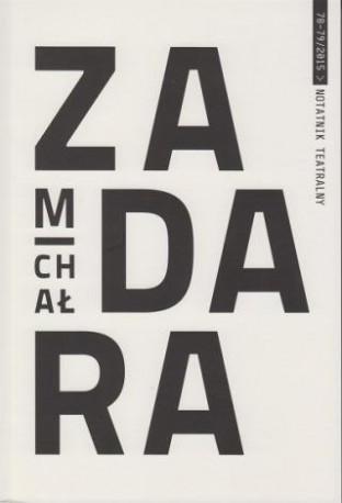 zdjęcie Notatnik Teatralny 78-79/2015. Michał Zadara