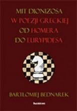 logo Mit Dionizosa w poezji greckiej od Homera do Eurypidesa