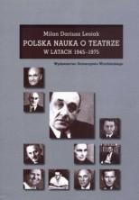 logo Polska nauka o teatrze w latach 1945-1975
