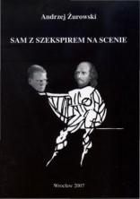 logo Sam z Szekspirem na scenie